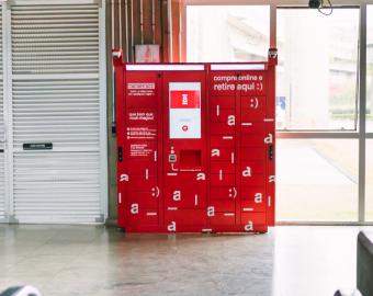A B2W vem investindo em lockers desde o ano passado. No projeto-piloto, eles foram instalados nos centros de distribuição e nas lojas físicas da Americanas.