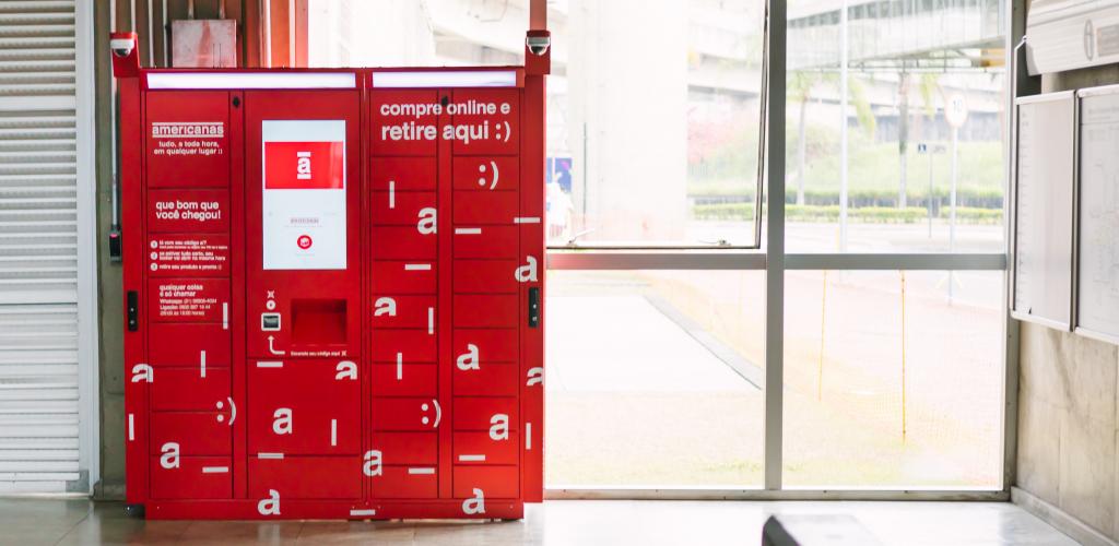 São Paulo e Rio passam a contar com lockers da B2W