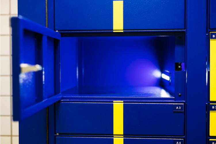 O que é um e-Box, conheça os benefícios de um smart locker.