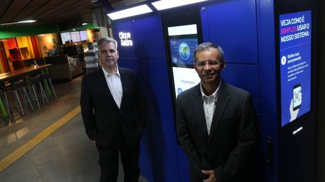 Estações de Metrô Rio terão armários para retirar produtos.