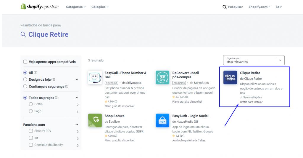 Clique Retire Shopify Apps 2
