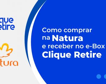 Como comprar na Natura com Clique Retire