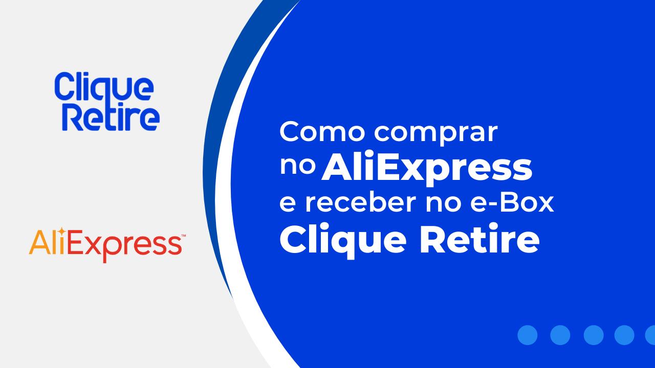 comprar no aliexpress com clique retire