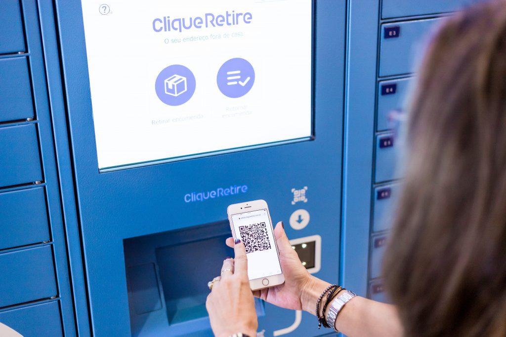 Digitalização de Shoppings - eBox clique retire Norte shopping