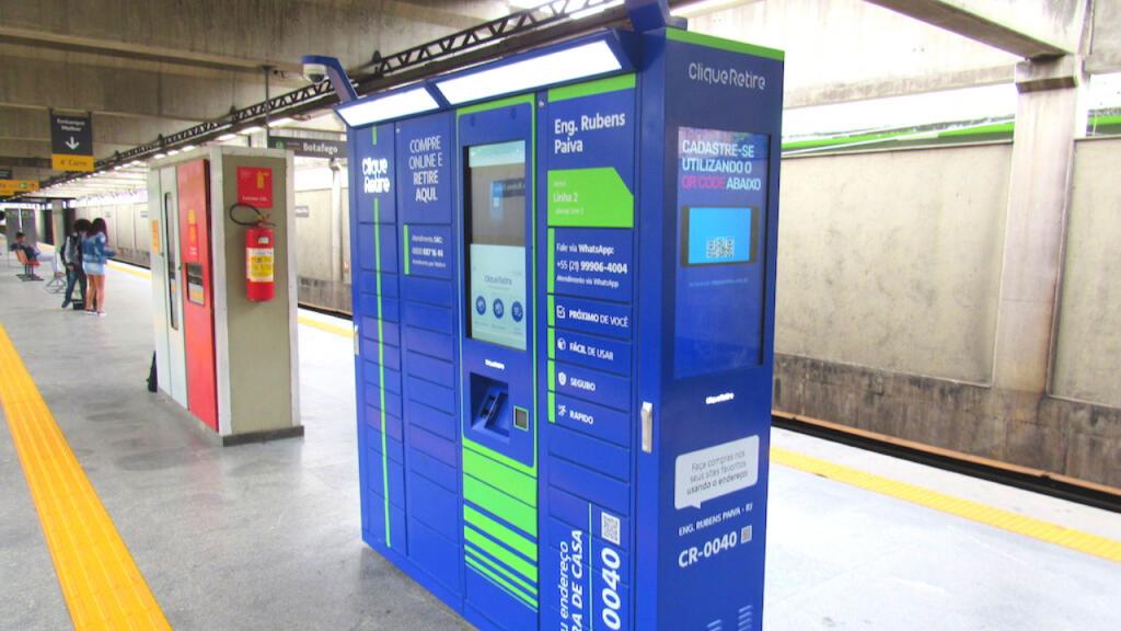 e-Box Clique Retire - MetroRio Engenheiro Rubens Paiva