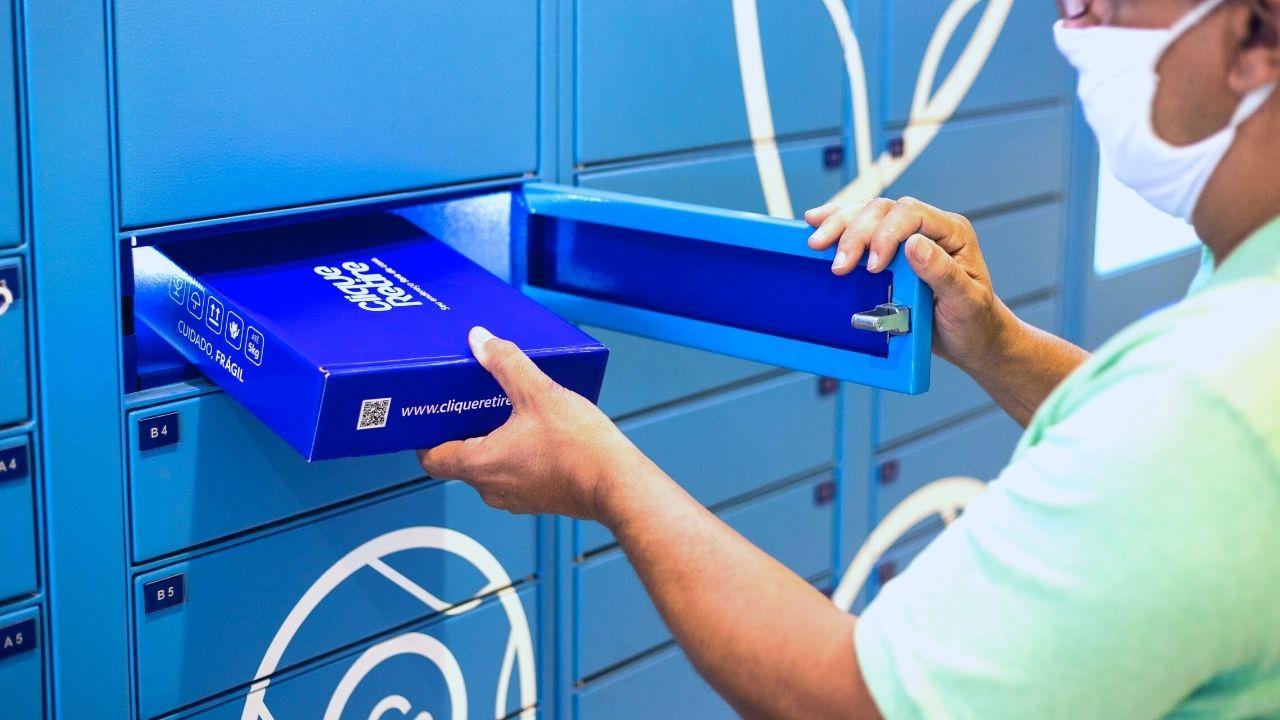 frete click collect - eBox clique retire Norte shopping