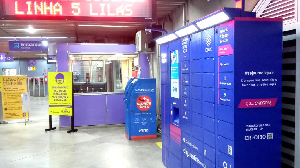 e-Box Clique Retire - Estação Vila das Belezas