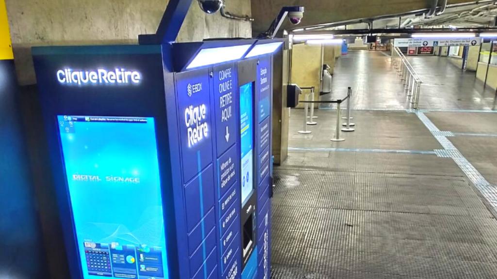 e-Box Clique Retire - Estação Santana